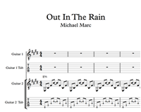 Изображение Out In The Rain Sheet Music & Tabs
