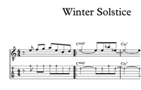 Winter Solstice Sheet Music & Tabs の画像