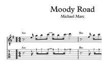 Изображение Moody Road Sheet Music & Tabs
