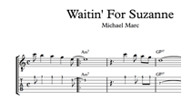 Waitin' For Suzanne Sheet Music & Tabs の画像
