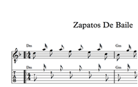 Zapatos De Baile Sheet Music & Tabs の画像