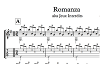 Изображение Romanza (Jeux Interdits) Sheet Music & Tabs