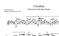 "图片 Cavatina (from ""The Deer Hunter"") Sheet Music"