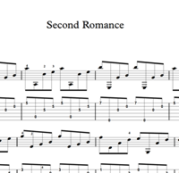 图片 Second Romance Sheet Music & Tabs