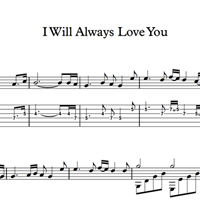 Изображение I Will Always Love You - Sheet Music & Tabs