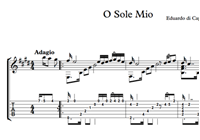 Picture of O Sole Mio Sheet - Music & Tabs