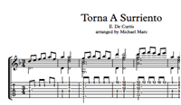 Picture of Torna A Surriento - Sheet Music & Tabs