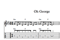 Image de Oh George - Sheet Music & Tabs