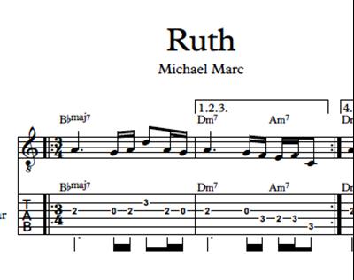 Bild von Ruth - Sheet Music & Tabs