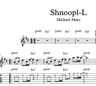 Bild von Shnoop-L - Sheet Music & Tabs