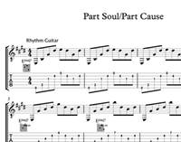 Image de Part Soul Part Cause - Sheet Music & Tabs