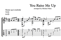 Изображение You Raise Me Up - Sheet Music & Tabs