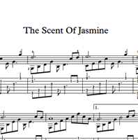 Bild von The Scent Of Jasmine - Sheet Music & Tabs