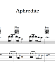 Снимка на Aphrodite - Sheet Music & Tabs