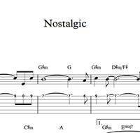 Nostalgic - Sheet Music & Tabs の画像