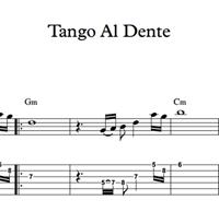 Picture de Tango Al Dente - Sheet Music & Tabs