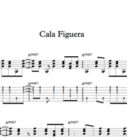 图片 Cala Figuera - Sheet Music & Tabs