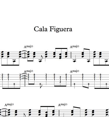 Bild von Cala Figuera - Sheet Music & Tabs