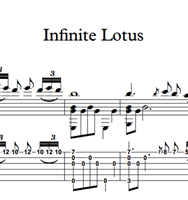 Bild von Infinite Lotus - Sheet Music & Tabs