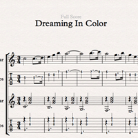 Dreaming In Color - Sheet Music & Tabs の画像