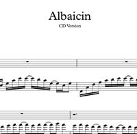 图片 Albaicin - Sheet Music & Tabs